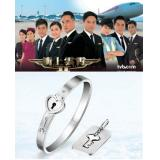 68% OFF Triumph in the Skies Bangle and Key,  FREE NAME ENGRAVING SERVICE (1st 150 sets)