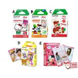Cartoon Instax Mini Film- 5 boxes (FREE Delivery)