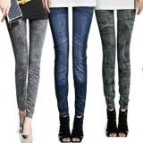 Jeans Inspired Slim Fit Leggings