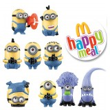 Limited Edition Mcdonald's Despicable Me 2 Minion toys