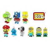 Set of 5 units Germany Loz Classic Characters Building Block