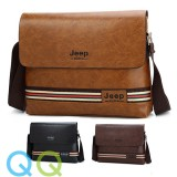 READY STOCK QQ JEEP Elegant Business Man Bag Sling Cross Body Beg Men Crossbody Shoulder Messenger Bags