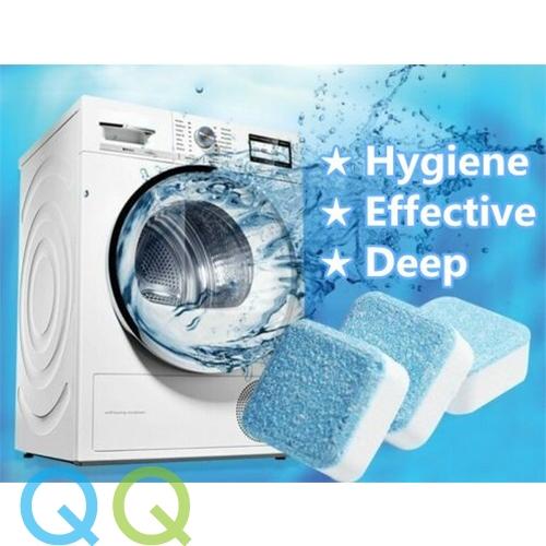 QQ Washing Machine Cleaner Descaler Deep Tank Cleaning Dirt Remover Deodorant Fast Dissolution Efficient Clean Pembersih Mesin Basuh